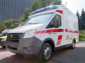 Новые автомобмом скорой помощи от Швабе